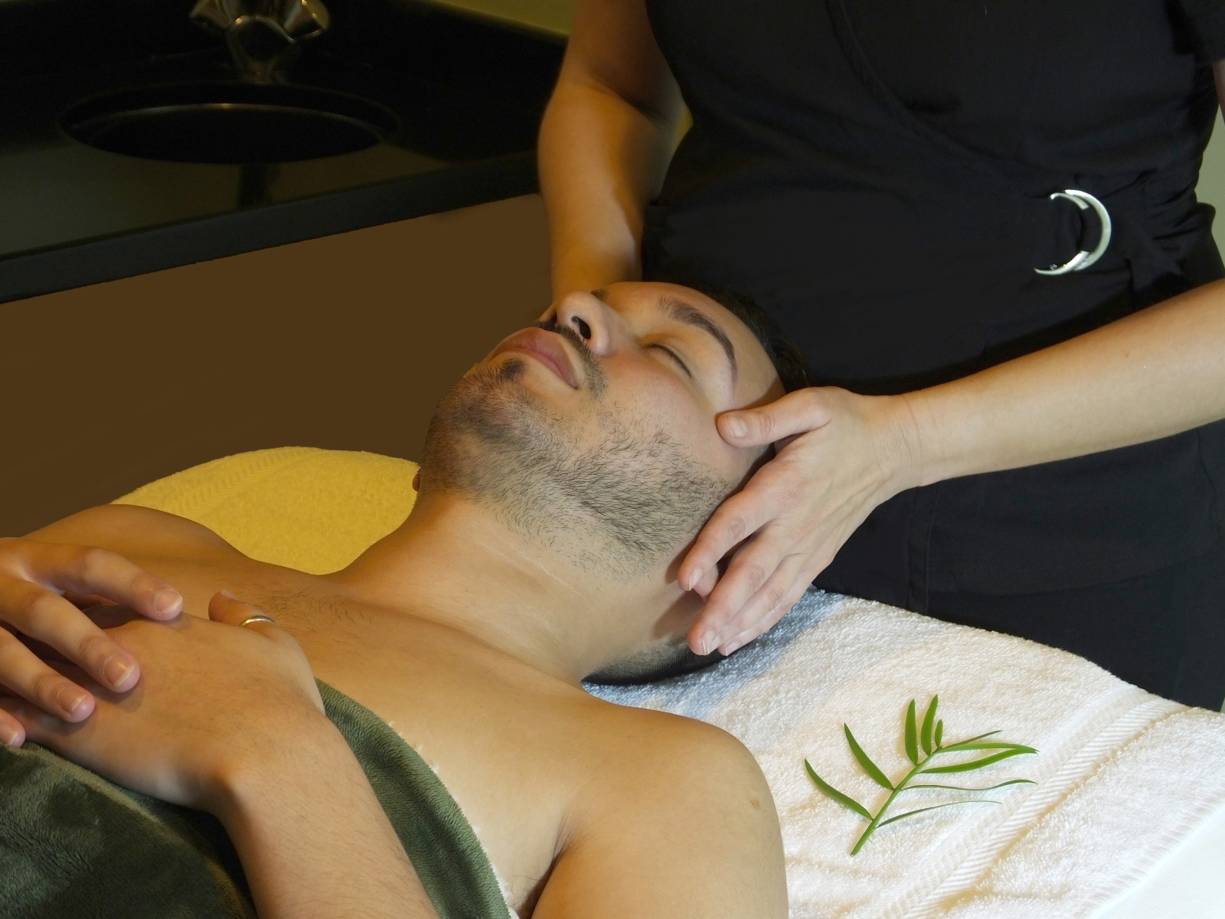 Facial spa for men out the